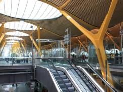 Мадридский аэропорт Барахас. Испания