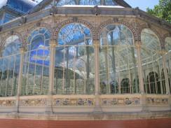 Парк Ретиро. Cristal Palace. Мадрид. Испания