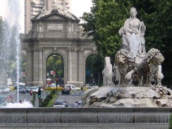 Площади Plaza de Cibeles. Мадрид. Испания