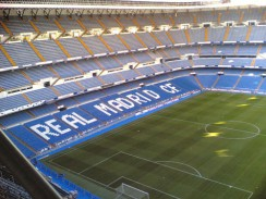 Стадион «Сантьяго Бернабеу» в Мадриде. Испания
