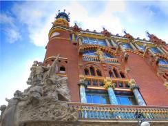 Испания. Барселона. Дворец Каталонской Музыки