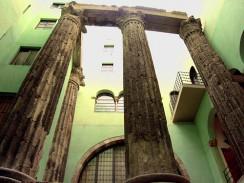 Испания. Барселона. Римские колонны