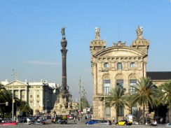Памятник Колумбу. Барселона. Испания