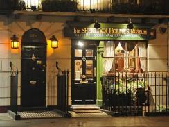Бейкер-стрит, 221b. Музей Шерлока Холмса. Лондон. Англия