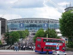 Стадион Уэмбли. Лондон. Англия