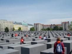 Мемориал памяти убитых евреев Европы. Берлин. Германия