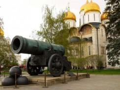 Московский Кремль. Царь-пушка. Москва. Россия