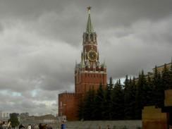 Спасская Башня Московского Кремля. Россия