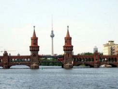 Мост Обербаумбрюкке. Берлин. Германия