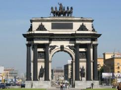 Россия. Москва. Триумфальная арка