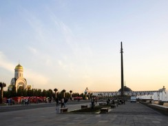 Россия. Москва. Монумент Победы
