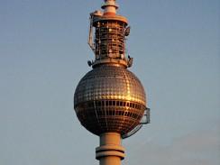 Берлинская телебашня. Германия