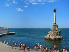 Украина. Севастополь. Памятник затопленным кораблям.