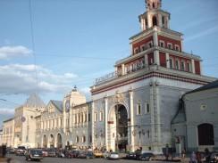 Россия. Москва. Комсомольская площадь. Казанский вокзал.