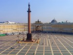 Россия. Санкт-Петербург. Дворцовая площадь.