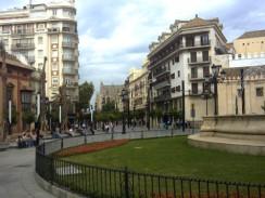 Площадь Конституции. Севилья. Испания.