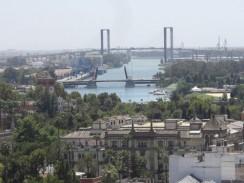 Испания. Севилья. Река Гвадалквивир