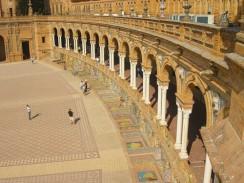 Площадь Испании. Севилья