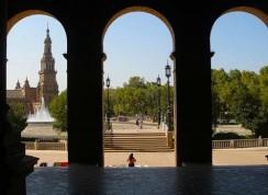 Севилья. Площадь Испании