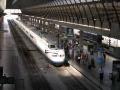 Железнодорожный вокзал «Севилья Санта Хуста». Испания