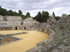 Древний амфитеатр Италики. Севилья. Испания.