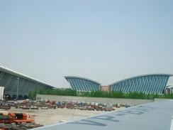Китай. Шанхайский аэропорт.