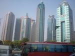 Китай. Небоскребы Шанхая.