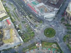 Китай. Новый Шанхай. Вид с телебашни Жемчужина Востока.