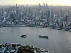 Китай. Шанхайские городские джунгли. Вид с телебашни Жемчужина Востока.