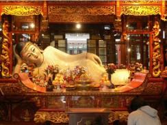 В храме Нефритового Будды. Шанхай. Китай.