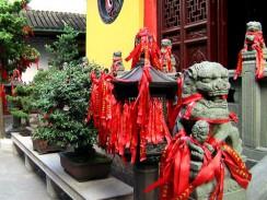 Китай. Шанхай. У храма Нефритового Будды.