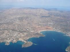 Греция. Афины. Вид с высоты.