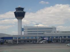Здание аэропорта «Элефтериос Венизелос» в Афинах. Греция.