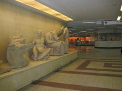 Греция. Афинское метро. Станция Акрополис.