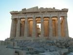 Храм Парфенон на Акрополе. Афины. Греция.