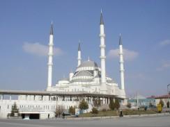 Турция. Главная мечеть Анкары — Коджатепе.