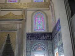 Турция. Анкара. Интерьер мечети Коджатепе