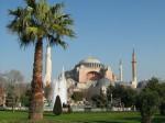 Турция. Стамбул. Софийский собор. Площадь Султанахмет, она же Ахмедие, она же площадь Ипподром.