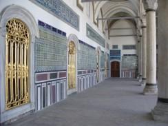 Турция. Стамбул. Один из интерьеров дворцового комплекса Топкапы.
