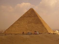 Пирамида Хеопса. Каир. Египет.