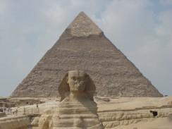 Египет. Каир. Пирамида Хефрена.