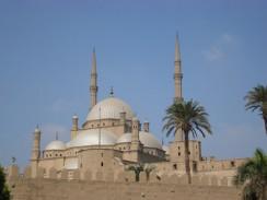 Египет. Каир. Мечеть Мухаммеда Али, построенная в XIX веке