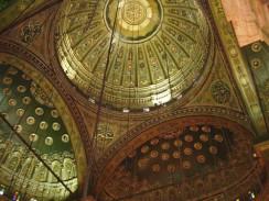 Интрерьер мечети Мухаммеда Али. Каир. Египет.