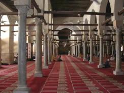 Залы для молитв в мечети аль-Азхар. Каир. Египет.