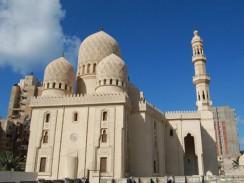 Египет. Мечеть Абу эль-Аббаса - самая большая и примечательная в Александрии.