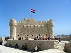 Египет. Александрия. Форт Кайт-Бей, построенный в 1480 году