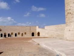 Египет. Александрия. Внутренний двор и площадь форта Кайт-Бей.