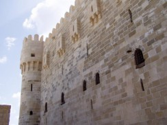 Египет. Александрия. Стена форта Кайт-Бей