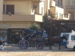 Египет. «Такси» в Луксоре.