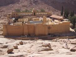 Монастырь святой Екатерины. Шарм-эль-Шейх. Египет.